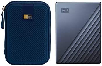 WD 2TB My Passport Ultra USB 3 0 Type C Slim Portable External Hard Drive Blue Compact Hard product image