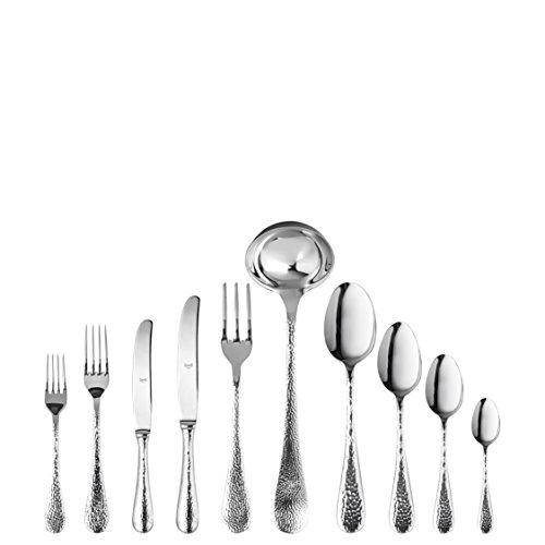 MEPRA Epoque Besteck-Set, Edelstahl, 41 x 33 x 21,5 cm, 45-teilig