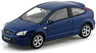 BRAND NEW DIECAST MODEL CAR 1:32 DISPLAY FORD FOCUS ST DIECAST CAR 1 PIECE BLUE NO RETAIL BOX 42378D-BL BY WELLY TOYS