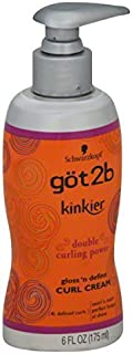 Got2b Kinkier Curl Cream, 6.0 Ounce