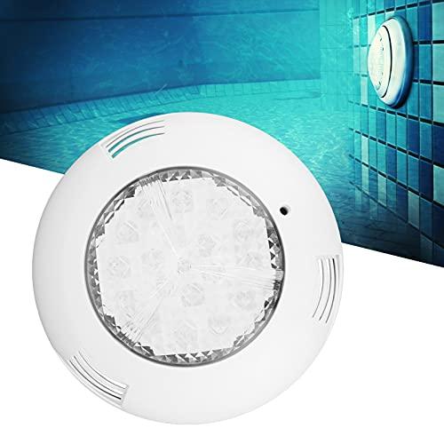 Luces para piscina, luz para piscina, luz LED para piscina, lámpara subacuática para jardín, paisaje, patio, piscinas