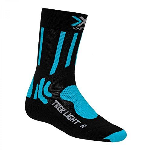 X-Socks Trekking Light Chaussettes x20015 35–38 Noir/Turquoise