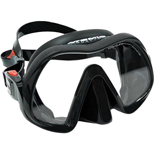 Atomic Venom - Máscara sin marco, color a elegir (todo negro)