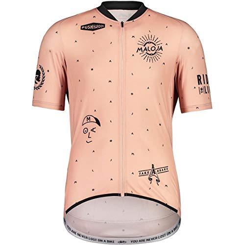 Maloja Pazenm. 1/2 T-Shirt pour Homme. M Lotus