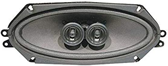 MACs Auto Parts 42-12152 Dual Voice Coil Speaker Assembly - 140 Watt Capability - 4 x 10 - Dash Mount
