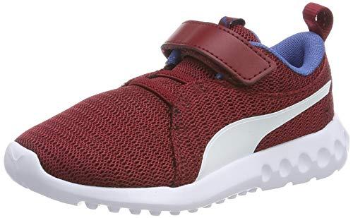 PUMJV|#Puma Unisex-Kinder Carson 2 V Ps Sneaker, Rot (Rhubarb-Galaxy Blue 19), 1 (33 EU)