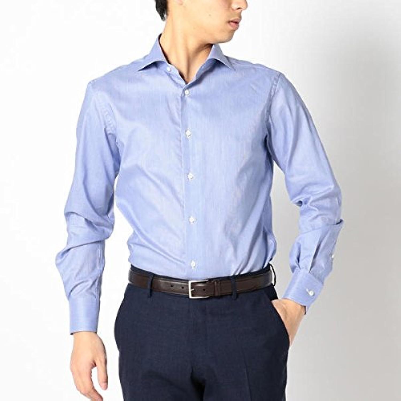 シップス(メンズ)(SHIPS) SD:【ALBINI社製生地】コードストライプ ホリゾンタルカラーシャツ