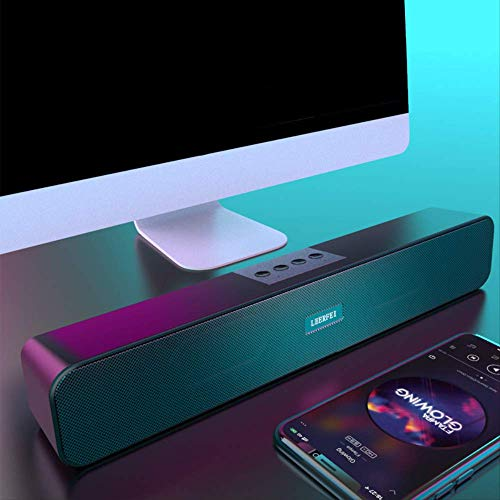 Multimedia Computer Audio Desktop Thuis Woonkamer Audio Subwoofer Notebook Bedraad Usb Speaker Bluetooth Kleine Speaker Actieve High-Power Met Microfoon Telefoon Universeel
