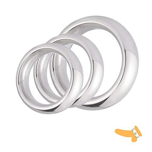 Anillo de carga de aleación de aluminio para mejorar la capacidad de las raíces de los hombres (3 tamaños)