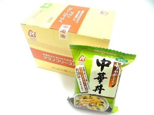 アマノフーズ小さめどんぶり 中華丼 【1箱4食×6箱入り】【5787】6