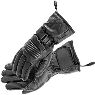 Firstgear Women's Heated Rider Gloves (MEDIUM) (BLACK)