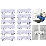 Kindersicherung Babysicherung Schrank Schubladen Fenster Tür Set Sicherheitsausrüstung für Kinder Sicherheitssets Schranksicherung 12 Stück (1)