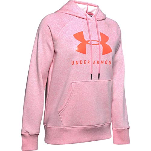 Under Armour Herren Rival Fleece Sportstyle Graphic Hoodie Kapuzenpullover, Lippenstift Medium...