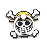Rumbeast One Piece Phone Ring Holder, Japanese Anime Metal Finger Ring Mobile Cell Phone Stand Holder 360° Rotation Hand Grip for Phones and Tablets(Style 01)