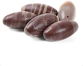 Siddhratan Narmada River Shiva Lingam Stone Approx 1 Inch Pack of 11 Positive energy in a beautiful pouch