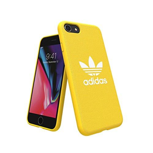 Adidas 29936 Originals Adicolor Coque moulée pour Apple iPhone 8/7/6S/6 Jaune