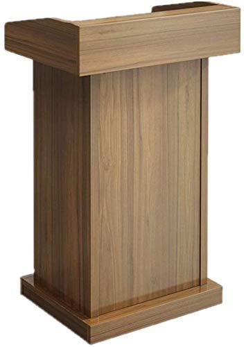 FGVBC Podio Podio Mesa de recepción Recepción de presentación Atril de Madera Atril de pie Atril parlante Atril de presentación de la Iglesia (Color: A)