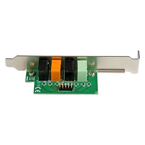 StarTech.com Carte son PCI Express 7.1 canaux pour son surround - 24 bit 192 KHz (PEXSOUND7CH)
