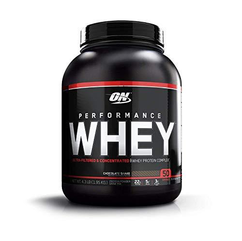 Optimum Nutrition rendimiento polvo, concentrado de proteína de suero de proteína de suero, suero–Whey Batidos, aislar hydrolyzed Suero de proteína, sabor: Chocolate Shake, 50Porciones
