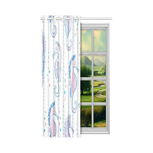 Generies Schlafzimmer Tür Vorhang mit Blick auf den sehr komfortablen Wasser Whirlpool Schöne Wohnzimmer Vorhänge 52x63 Zoll (132x160cm) 1 Panel Blackout Tülle Vorhang für Schlafzimmer Wohnzimmer