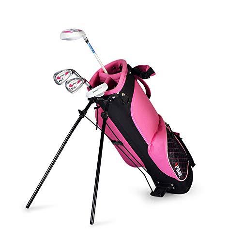 Outdoor sports Stehende Golftasche, Tragbare Golftasche für Kinder, Ultraleichte und verschleißfeste Golftasche mit großer Kapazität für 13 Schläger. Beste Ausrüstung für Anfänger