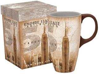 "LANG - 18 oz. Ceramic Latte Mug - ""Empire State"" - Artwork by Patrick Reed O'Brien"