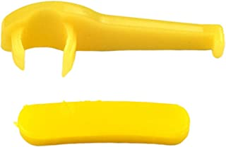 D DOLITY 2 x 60 mm Cabeça de pato para pneus Acessórios de nylon Plástico Protetor Pássaro