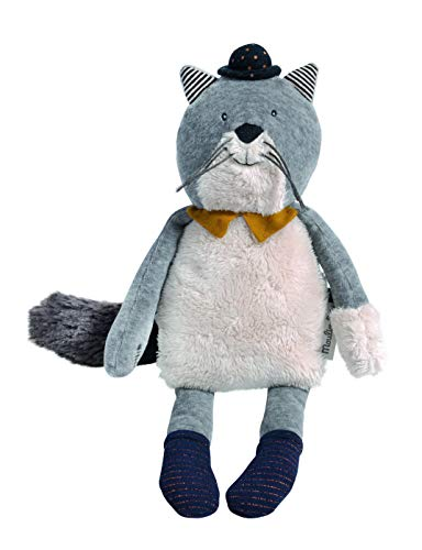 MOULIN ROTY-Poupee chat fernand les moustaches