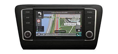 Pioneer AVIC-EVO1-PL2-VAL   Navigation mit Apple CarPlay & Android Auto. VW Polo 6C ab 2014 in Satin Black   DAB+ - Bluetooth Autoradio