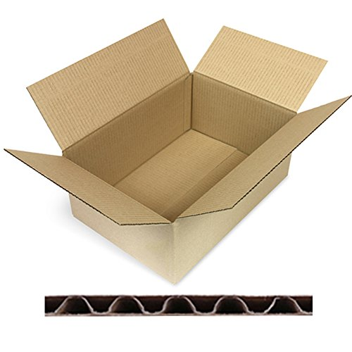 100 Faltkartons Versandkartons DHL Kartons 350 x 240 x 150 mm, 1-Wellig, KK-70