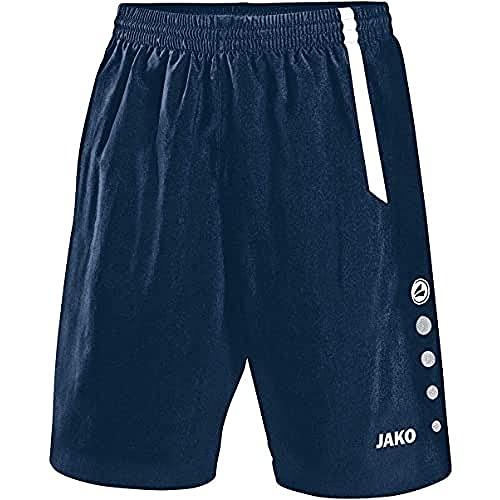 JAKO Turin Shorts de randonnée Homme, Navy/Blanc, XL