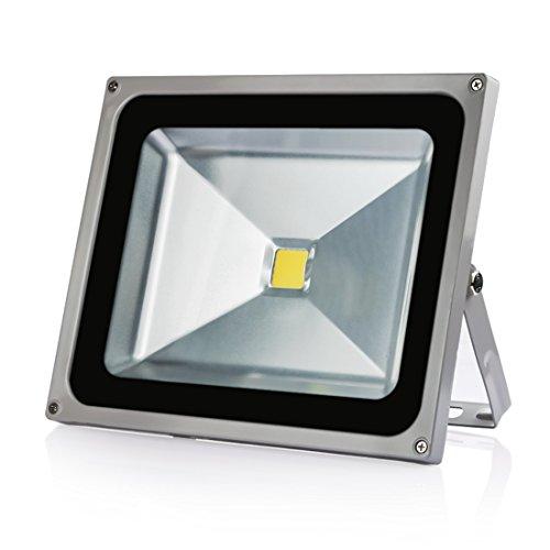 LEDMO 30w Flood Lights 1.0 Waterproof IP65, 6000K Flood Light, Daylight White