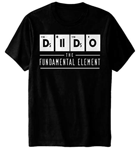 Dildo Glow in The Dark T-Shirt The Fundamental Element Chemistry Funny Black