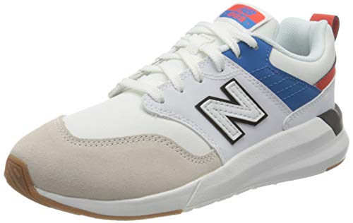 New Balance 009, Zapatillas, White, 37 EU