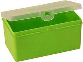 Wham 12816 Deep Storage Box, Lime/Clear - 14.5H X 9.5W X 7D cm