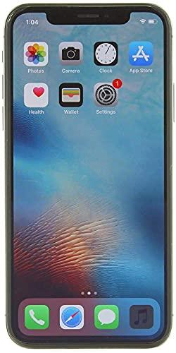 (Refurbished) Apple iPhone X, US Version, 256GB, Space Gray - Unlocked
