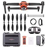 Autel EVO II Drone 2021, cuadricóptero plegable resistente combo 8K HDR vídeo 48MP EVO 2 extendido con kit de accesorios (kit 2)