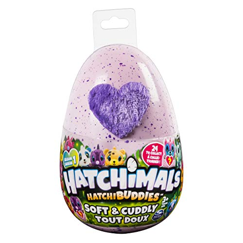 "Hatchimals HatchiBuddies – 6"" Tall Plush with Egg (Styles May Vary)"