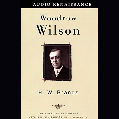 Woodrow Wilson audiobook cover art