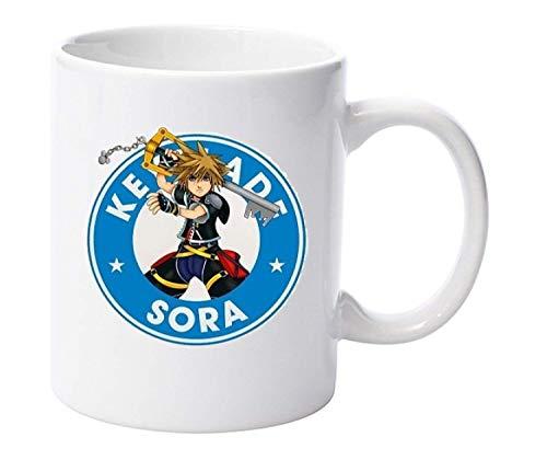 Kingdom Hearts Keyblade Sora Parody - Tazas de 325 ml
