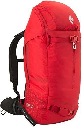 Black Diamond Saga 40 JetForce Avalanche Airbag Pack, Fire Red, Medium/Large by Black Diamond