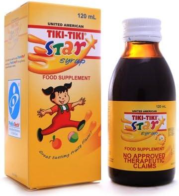 3 Tiki-Tiki Beauty products Colorado Springs Mall Star Plus Syrup 3x120ml
