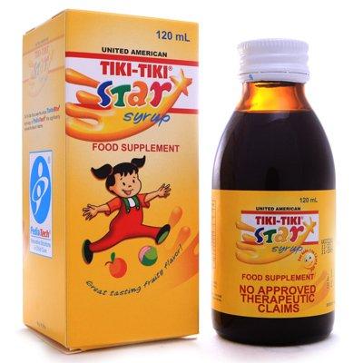 3 Tiki-Tiki Star Plus Syrup (3x120ml)