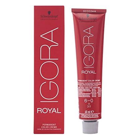 Tinte Igora Royal Schwarzkopf 6-0 pack de 3x60ml: Amazon.es ...