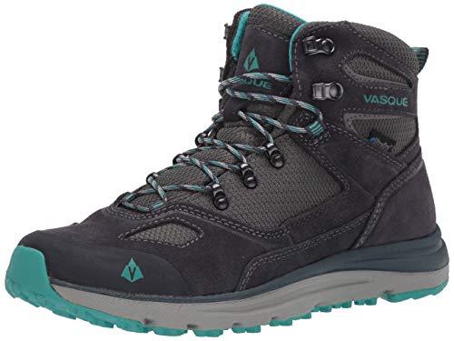 VASQUE Women's Mesa Trek UltraDry Waterproof Mid Hiking Boots Ebony/Baltic Black