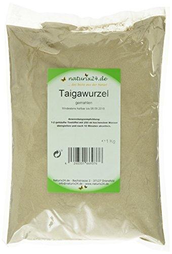 Naturix24 Sibirischer Ginseng, Taigawurzel gemahlen, 1er Pack (1 x 1 kg)