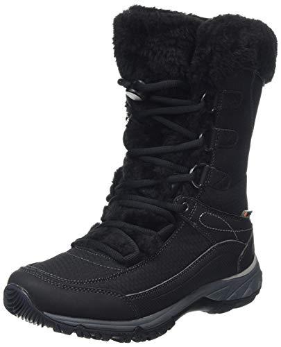 HI-TEC Equilibrio St Bijou 200 I Waterproof, Chaussures de Randonnée Hautes Femme, Noir (Black 21), 36 EU