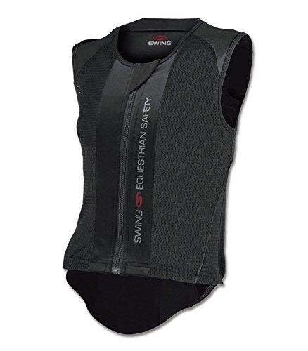 Swing Rückenprotektor P06, schwarz, Gr. Erw. M, schwarz, Erwachsene M