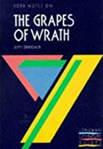 York Notes. John Steinbeck. The Grapes Of Wrath 1st (first) Edition by CWF McKenna published by Longman (1980)