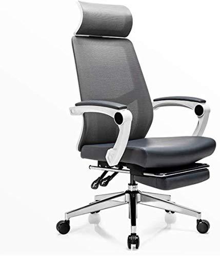 Xiuyun Bürostuhl Spiel Stuhl, verstellbare Sitzhöhe Reclining Kippmechanismus, 360 Grad schwenkbar for Heimcomputer Boss Spiel Freizeit-Stuhl (Color : Style2)